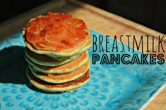 Breast Milk Pancakes