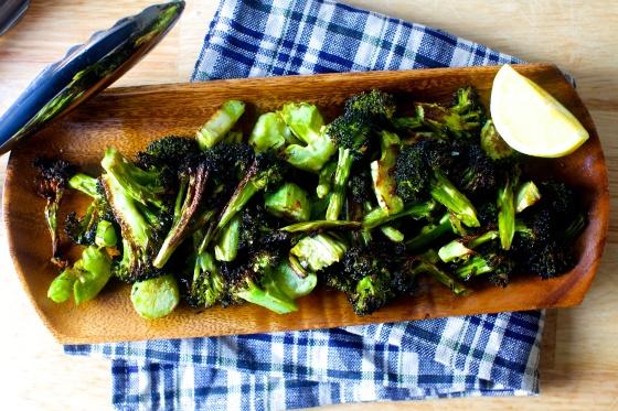crispy-broccoli-with-lemon-and-garlic